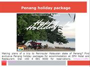 Cheap Hotels in Penang
