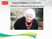5 Ways Seniors Can Reduce Their Risk of Dowager's Hump