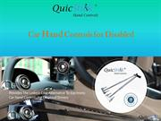 Car Hand Controls For Disabled : QuicStick
