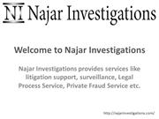 Najar Investigations - The Best Private Investigation Agency