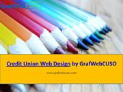 Credit Union Web Design by GrafWebCUSO