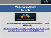 Advanced Persistent Threat Protection ppt