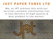 Cardboard Tube Packaging | Just Paper Tubes Ltd - UK
