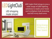 Get The Best LED Recessed Light At LED Light Club