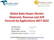 Global Baby Diaper Market Shipment, Revenue and ASP Forecast by Applic