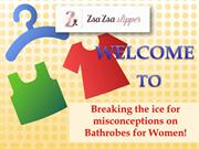 Breaking the ice for misconceptions on Bathrobes for Women!