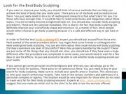Look for the Best Body Sculpting