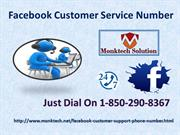 Can I Know Something About Facebook Customer Service 1-850-290-8367