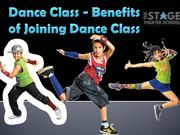Dance Class - Benefits of Joining Dance Class
