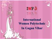 Top Women Polytechnic Institute in Gagan Vihar