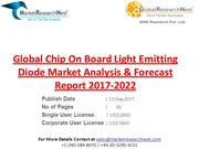 Global Chip On Board Light Emitting Diode Market Analysis & Forecast R