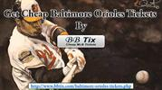 Cheap Baltimore Orioles Tickets