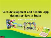 Web development and Mobile App design services in India