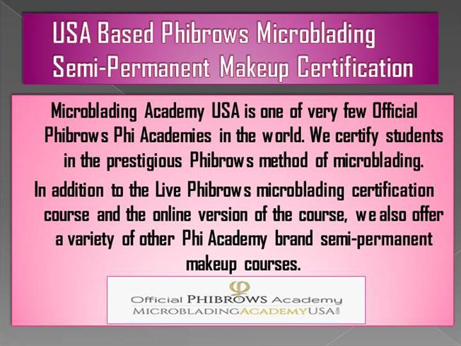 USA Based Phibrows Microblading |authorSTREAM