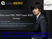 Pass your PMI  PMP Exam With Dumps