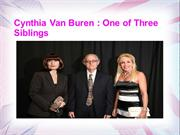 Cynthia Van Buren - One of Three Siblings