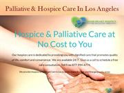 Hospice Care In Los Angeles - Good Heart Hospice