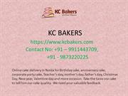 Order Birthday Cake Home Delivery in Noida form Best Cake Shop