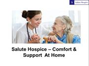 Best Orange County Hospice - Salute Hospice