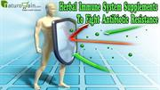 Herbal Immune System Supplements To Fight Antibiotic Resistance
