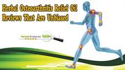 Herbal Osteoarthritis Relief Oil Reviews That Are Unbiased