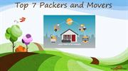 Top 7 packers and movers- Shifting your goods