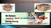 Top 7 packers and movers - Hire trusted & reliable packers and movers