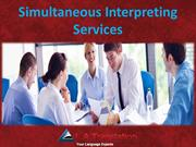 Simultaneous Interpreting Services