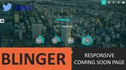 BLINGER – RESPONSIVE COMING SOON PAGE