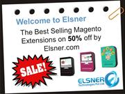 The Best Selling Magento Extensions on 50% off by Elsner.com