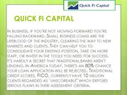 Take care of your business – Quick Fi Capital