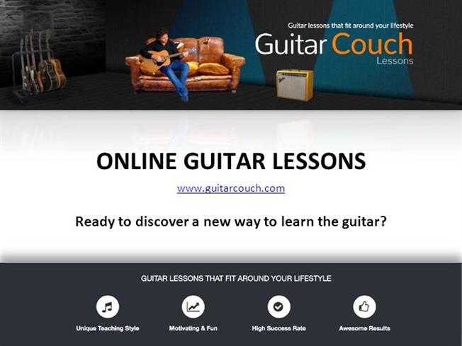 Online Guitar Lessons - Guitar Couch Lessons. guitarcouch. Download. Post  to :