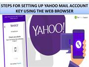 Setup Yahoo Mail Account Key