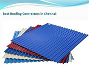 Best Roofing Contractors in Chennai