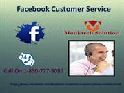 Facebook Customer Service 1-850-777-3086- Manage your Facebook page