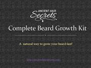Best Beard Growth Products | Complete Beard Growth Kit