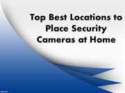 Top 4 Best Places to Install Security Cameras at Home