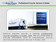 Domestic and International Courier Service in Dubai, UAE