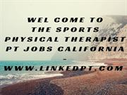 Sports Physical Therapist PT Jobs California - www.linkedpt.com