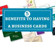 5 Benefits To Having a Business Cards in Delray Beach
