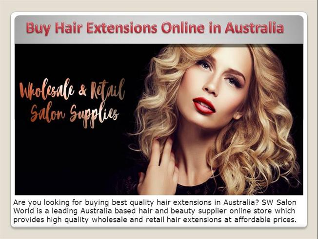 Buy Hair Extensions Online In Australia Authorstream