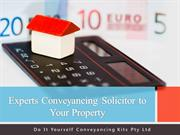 Experts Conveyancing Solicitor to Your Property