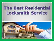 The Best Residential Locksmith Service
