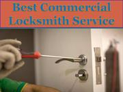 Best Commercial Locksmith Service