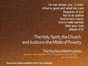 500-6 Justice - A Practical Theology