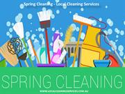 Spring Cleaning - Local Cleaning Services