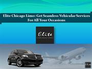 Elite Chicago Limo - Get Seamless Vehicular Services