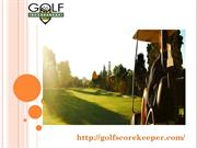 Golf score tracker software buy online