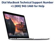 Dial MacBook Technical Support Number +1 (800) 942-1460 for Help