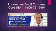 1-800-721-0104 Roadrunner Email Toll Free Number